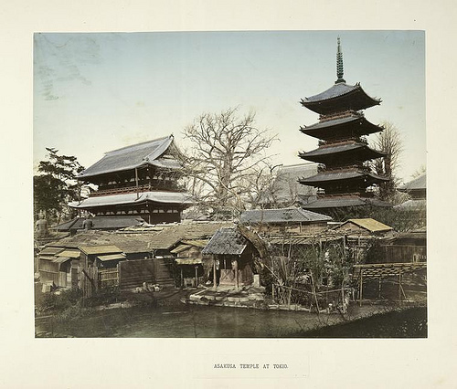 Asakusa Sensoji 1898