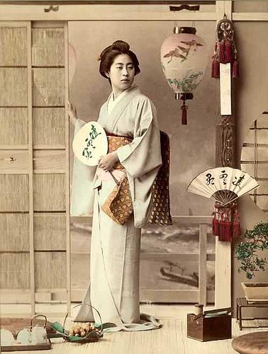 Tokyo Geisha Tamaye 1891